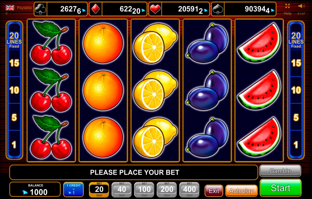 20 super hot egt spielautomaten