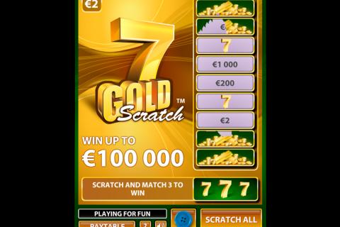 gold scratch netent online