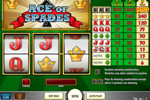 ace of spades playn go spielautomaten