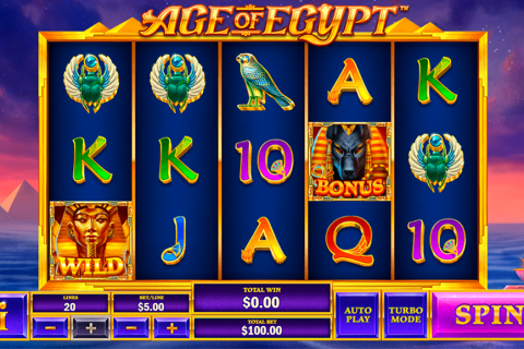 age of egypt playtech spielautomaten
