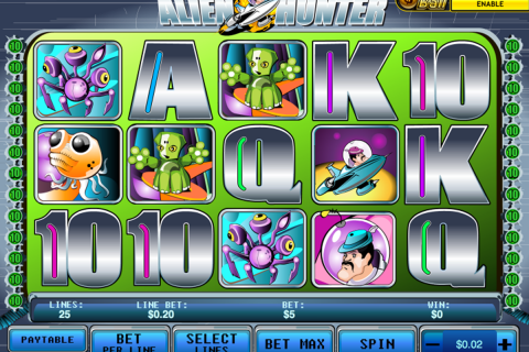 alien hunter playtech spielautomaten
