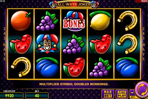 all ways joker amatic spielautomaten