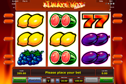 always hot novomatic spielautomaten