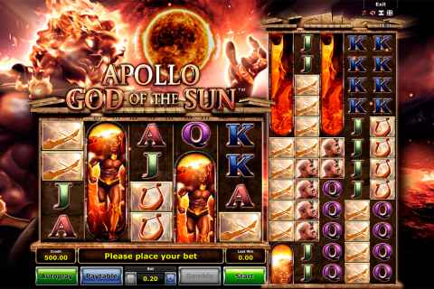 apollo god of the sun novomatic spielautomaten