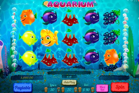 aquarium playson spielautomaten