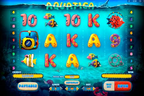 aquatica playson spielautomaten