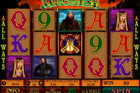 archer playtech spielautomaten
