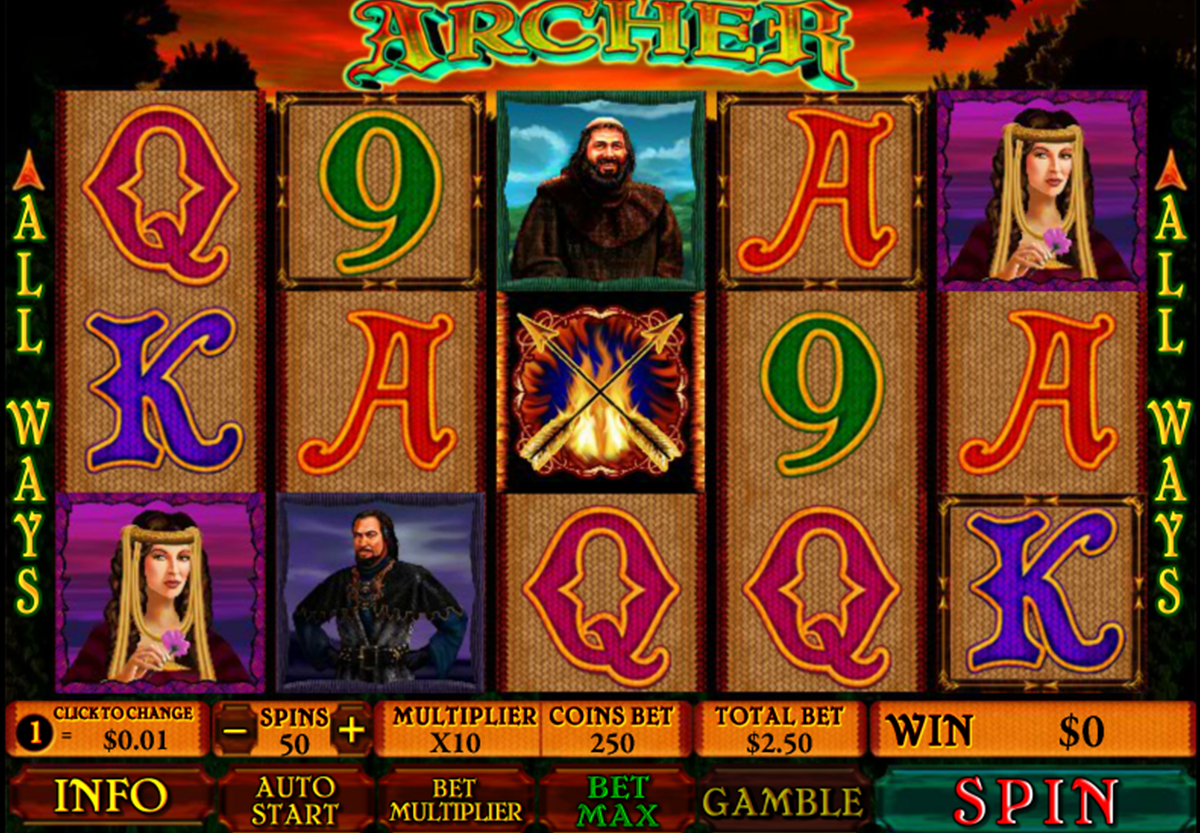 Spiele Archer Of SlotWood - Video Slots Online