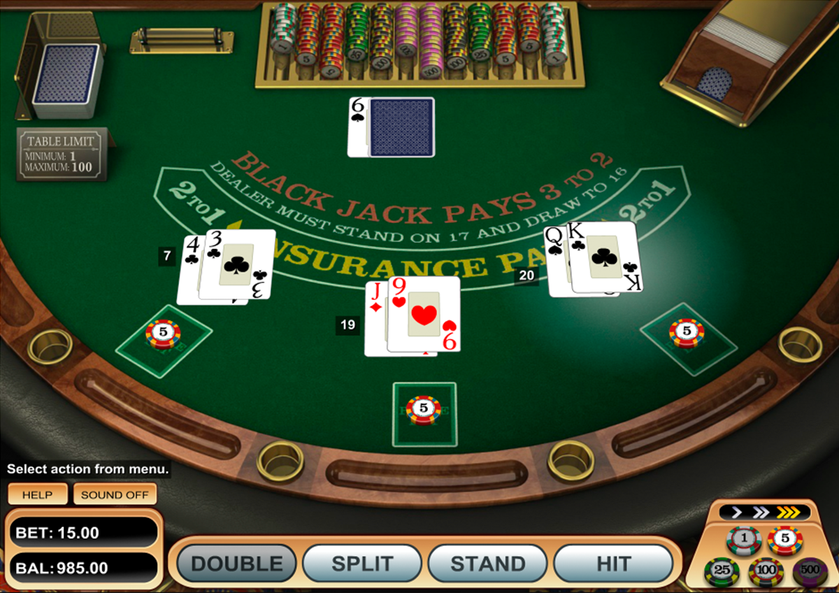 Spiele Black Jack Atlantic City MH - Video Slots Online