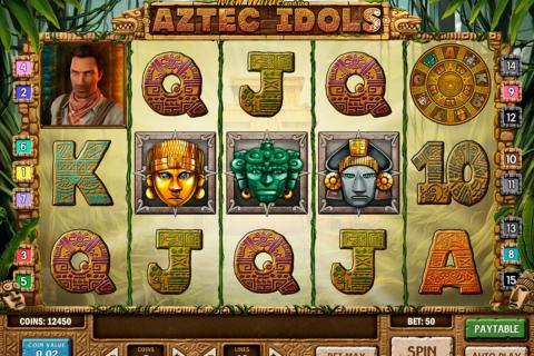 aztec idols playn go spielautomaten