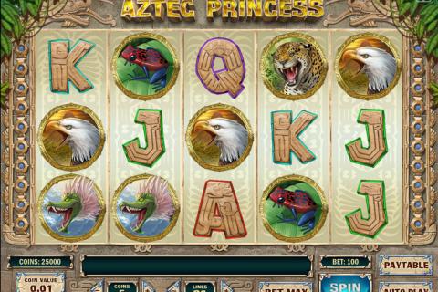 aztec princess playn go spielautomaten