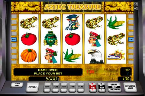 aztec treasure novomatic spielautomaten