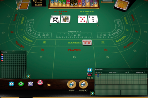 baccarat gold microgaming online
