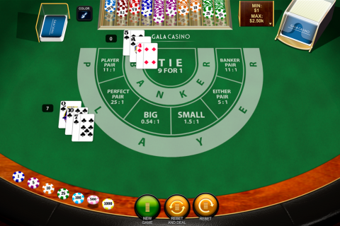 baccarat playtech online