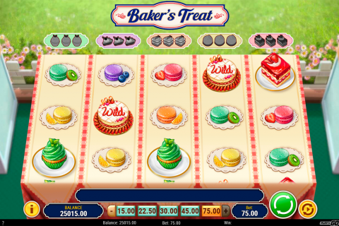bakers treat playn go spielautomaten