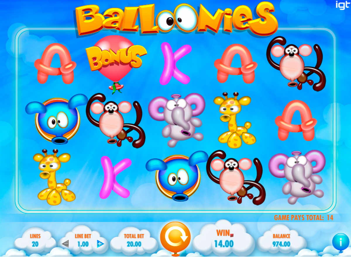 Spiele Balloonies - Video Slots Online