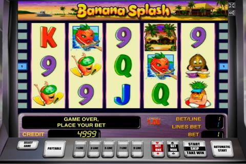 banana splash novomatic spielautomaten