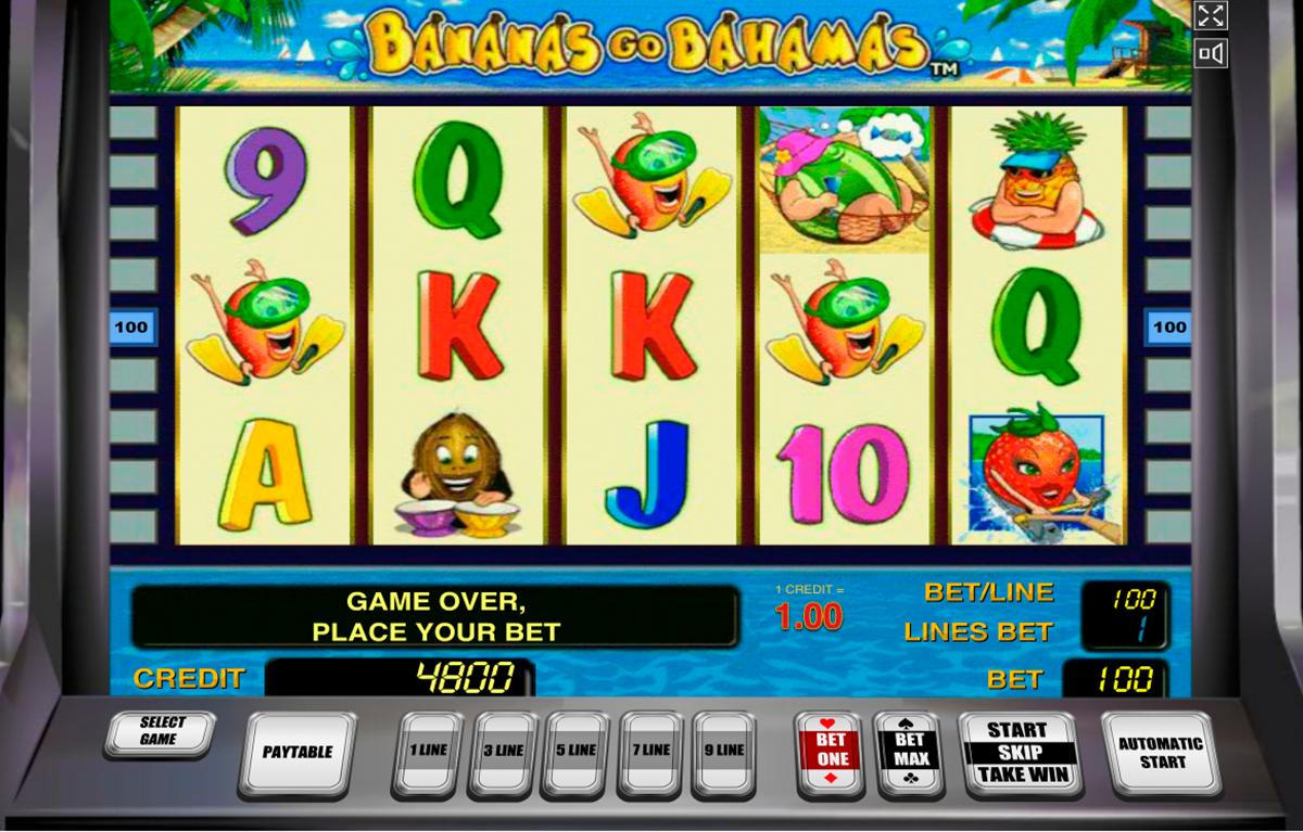 bananas go bahamas novomatic spielautomaten
