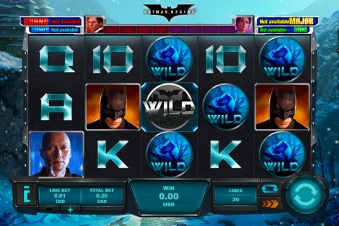 batman begins playtech spielautomaten