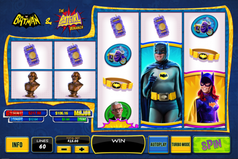 batman the batgirl bonanza playtech spielautomaten
