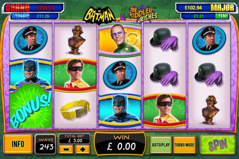batman the riddler riches playtech spielautomaten