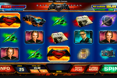 batman vs superman playtech spielautomaten