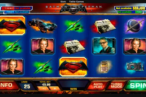 batman vs superman playtech spielautomaten