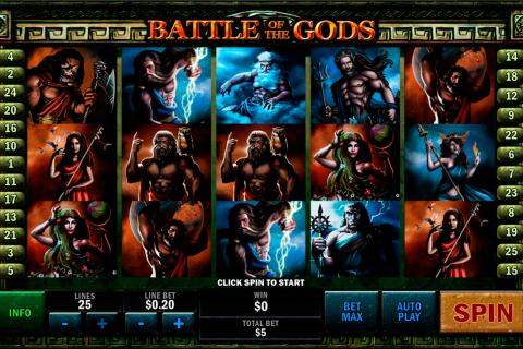 battle of the gods playtech spielautomaten