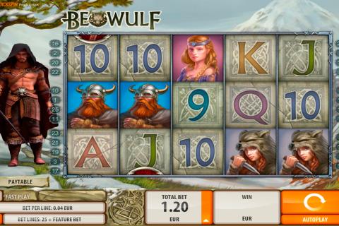 beowulf quickspin spielautomaten