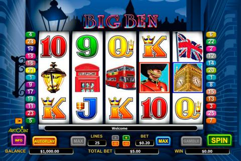 big ben aristocrat spielautomaten