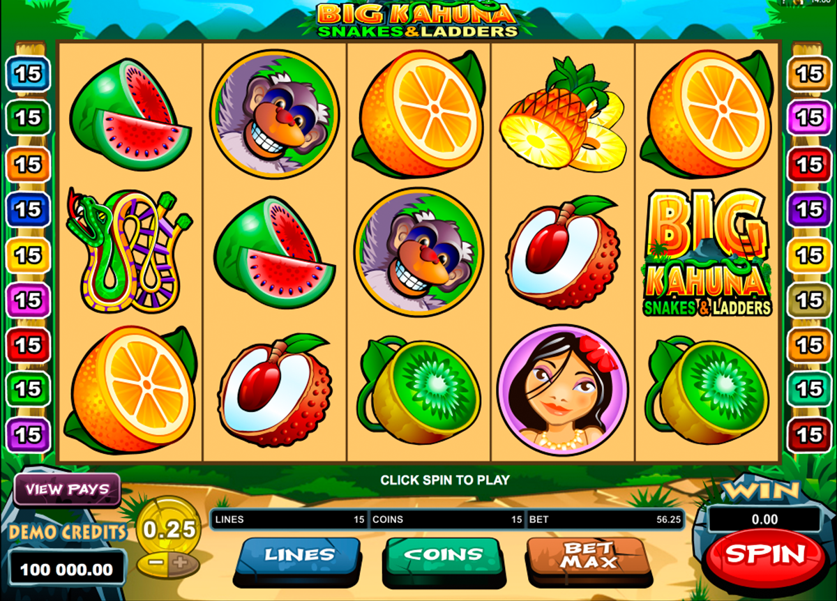 Spiele Big Kahuna Snakes And Ladders - Video Slots Online