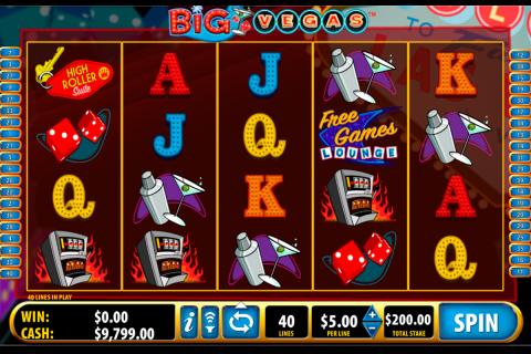 big vegas bally spielautomaten