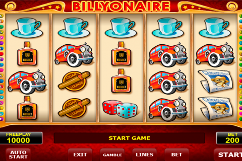 billyonair amatic spielautomaten