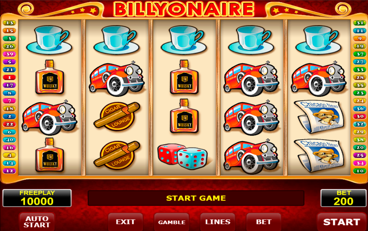 billyonair amatic spielautomaten