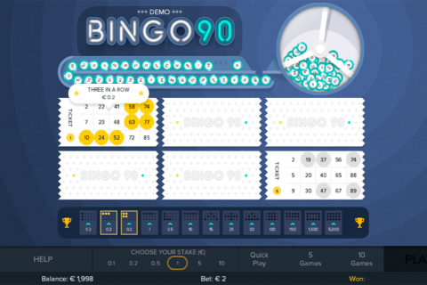 bingo  gluck games