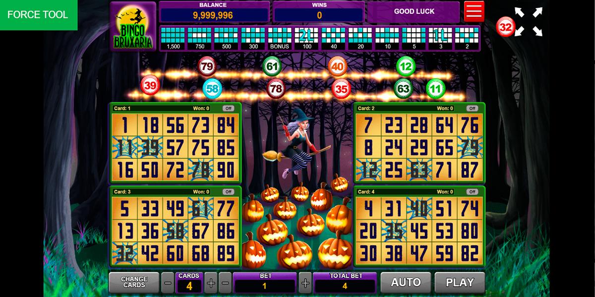 bingo bruxaria caleta gaming