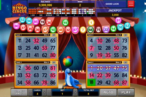 bingo circus caleta gaming