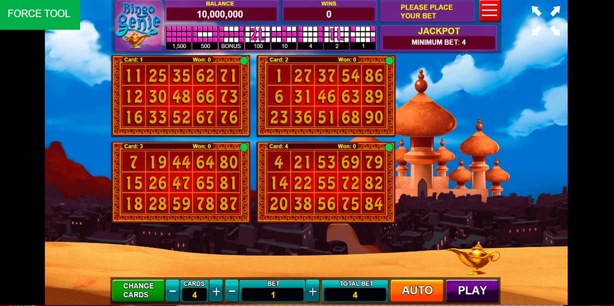 bingo genie caleta gaming