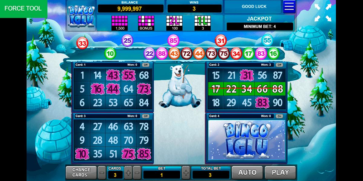 bingo iglu caleta gaming