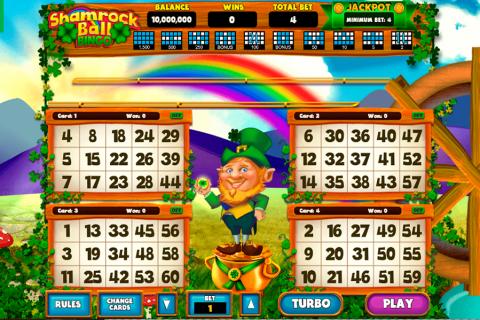 bingo shamrock ball caleta gaming