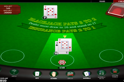 blackjack amatic online