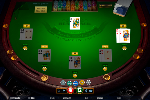 blackjack high playson online