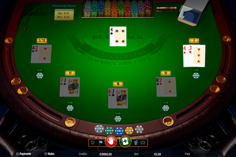 blackjack low playson online