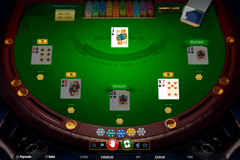 blackjack playson online
