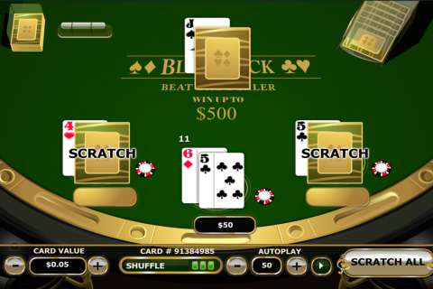 blackjack scratch playtech online