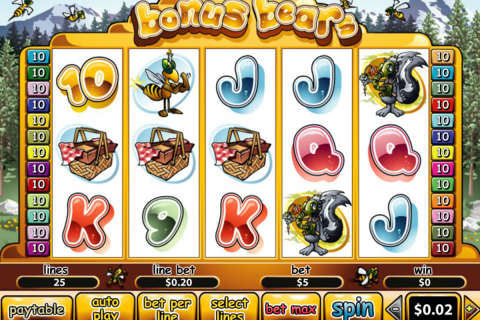 bonus bears playtech spielautomaten