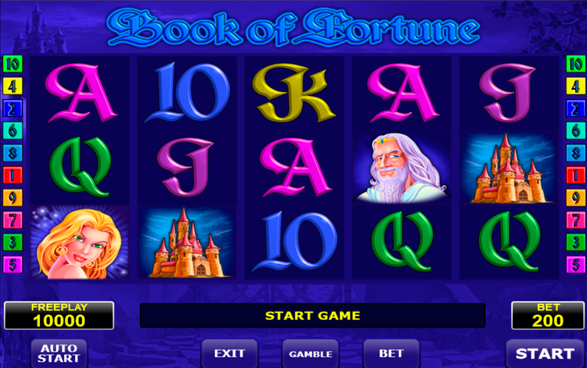 book of fortune amatic spielautomaten