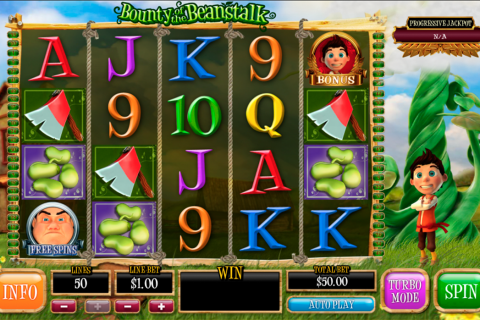bounty of the beanstalk playtech spielautomaten