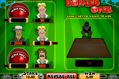 bowled over microgaming online