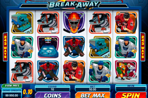 break away microgaming spielautomaten